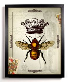 The Queen Bee Home Kitchen Nursery Bath Dorm by StayGoldMedia