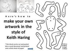 Image result for keith haring art lesson