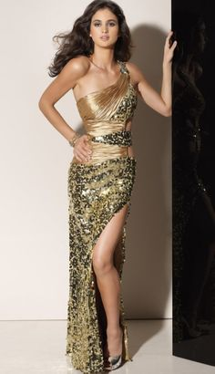 Flaunt One Shoulder Sequin Prom Dress 91131 by Mori Lee at frenchnovelty.com