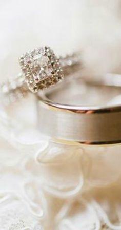 Ana Rosa for Princess Cut Halo, Princess Cut Engagement Rings, Just Girly Things, Dream Wedding, Wedding Day, Wedding Rings, Wedding Album, Wedding Photos, Wedding Morning