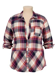 must have this plaid shirt for fall!