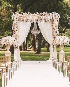 Aisle style ?? #inspiration #love #aisle #flowers #wedding #raffaeleciuca