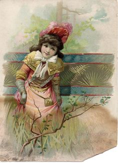 Lion Coffee Woolson Spice Co Victorian Advertising Trade Card Midsummer Greeting | eBay