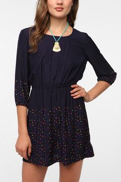I like my new dress! Cooperative Metro Dress  #UrbanOutfitters