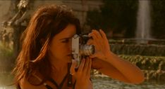 Penelope Cruz with a Leica M7 and a 35mm summilux from the film Vicky Cristina Barcelona ~ 2008  by Woody Allen.