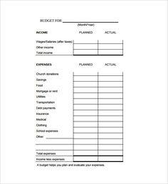 Budget Calculator Spreadsheet Sample Template Free , Budget ...