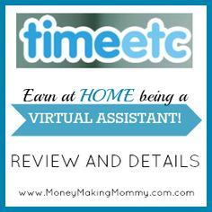 Work at home as a Virtual Assistant! #workathome #moms #jobs