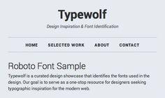 Best free Open-Source Web Fonts