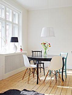 北欧モダンのスタイリッシュなダイニングルーム50 の画像|賃貸マンションで海外インテリア風を目指すDIY・ハンドメイドブログ<paulballe ポールボール>