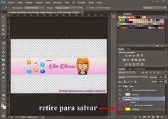 Como Fazer um Banner/Capa para Youtube - Dimensão - QUERO DICAS