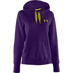 Under Armour Women's Charged Cotton Storm Fleece Pullover Hoodie