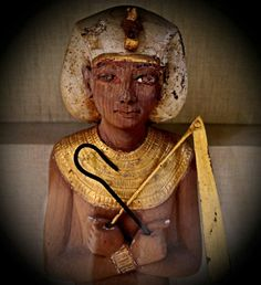 One of the 413 Shabtis from the Tomb of Tutankhamun.