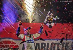 """@Jason Stocks-Young: .@Jimmie Heusler Johnson celebrates in @Charlotte Willner Motor Speedway victory lane after winning   #letsgo #NASCAR pic.twitter.com/tNlqSRayEz"""