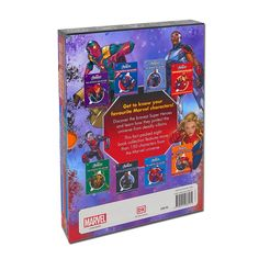 Marvel The Avengers 8 Books Collection Box Set The Infinite Collection Character Guides Volume 1