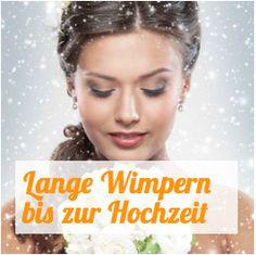 Tipps für lange Wimpern beim Braut Make-Up:  Starten Sie 4 bis 6 Wochen vor der Hochzeit mit der Anwendung von Wimpernwachstumsserum.   http://www.wimpernwuensche.de/braut-augen-makeup