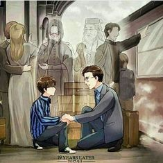 """Albus Severus potter you were named after two head masters at Hogwarts and one of them was a slitherine and he happend to be one of the bravest man I ever knowed""- Harry from harry potter Harry Potter Comics, Fanart Harry Potter, Harry Potter Tumblr, Estilo Harry Potter, Images Harry Potter, Arte Do Harry Potter, Harry Potter Puns, Harry Potter Cosplay, Harry Potter Drawings"