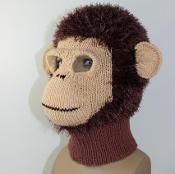 Monkey Mask Balaclava - via @Craftsy