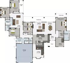 Waihi 5 bedroom house plans Landmark Homes builders NZ