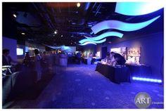 Shedd Aquarium #uplighting #blue #gobos