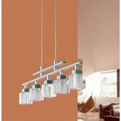 Eglo Tanga 5-Light Chrome Hanging Island Light-20114A - The Home Depot $179.00