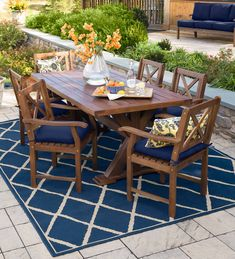 Our Claremont Outdoor Dining Furniture is just one way to elevate your outdoor entertaining space. Our table and chairs are made of FSC-certified … Outdoor Wood Furniture, Wicker Furniture, Outdoor Chairs, Table And Chairs, Dining Chairs, Round Folding Table, Beautiful Home Designs, Outdoor Living