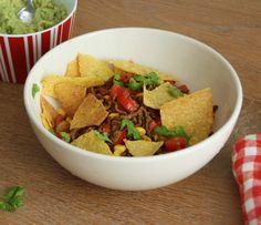 5 or less: Taco-bowl