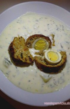 Vynikajúca kôprová omáčka Vitamins, Food And Drink, Eggs, Healthy Recipes, Cooking, Breakfast, Kitchen, Morning Coffee, Egg