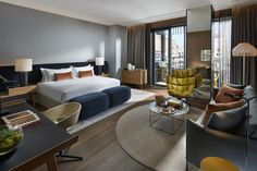 Patricia Urquiola añade color en las nueva suites del hotel Mandarin Oriental Barcelona. | diariodesign.com