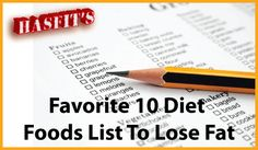 Best Diet Foods List To Lose Fat - Healthy Diet Food List To Burn Fat - Best Weight Loss Foods