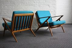 Brilliant Danish Mid Century Modern Poul Jensen Z Chairs f… | Flickr