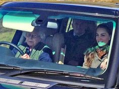 Granny's at the Wheel! Queen Elizabeth Takes Princess Kate Out for a Weekend…