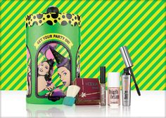Benefit Cosmetics - get your party on! contouring kit #benefitbeauty