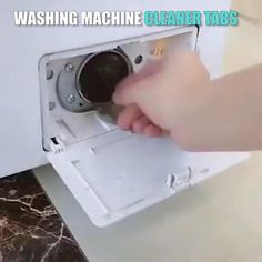 Washing Machine Cleaner Tabs These Washing Machine Cleaner Tabs were developed to ensure thorough cl Diy Home Cleaning, House Cleaning Tips, Diy Cleaning Products, Cleaning Solutions, Spring Cleaning, Cleaning Hacks, Cleaning Supplies, Washing Machine Cleaner, Clean Washing Machine