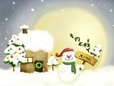 25 Awesome Christmas Winter Wallpapers For Your Inspiration