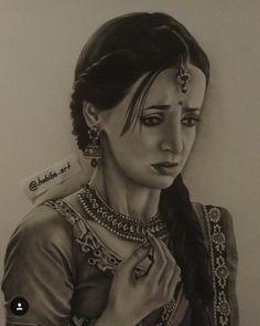 Sanya Irani (Paro) rangrasiya حبيبي دائما (Drawing)