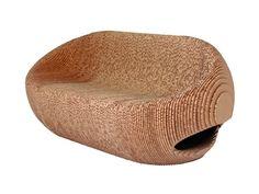 Cardboard #sofa CANYON Canyon Collection by #ORIGAMI FURNITURE | #design Giancarlo Zema