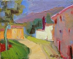 Marie Astoin (b.1924) French Artist. Landscape Painting