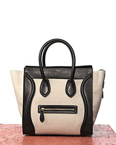 Celine bag. I saw a girl with this in the airport. It's even more fantastic in person.