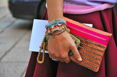 I love these bracelets - more colour