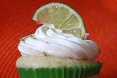 Lime Margarita cupcakes