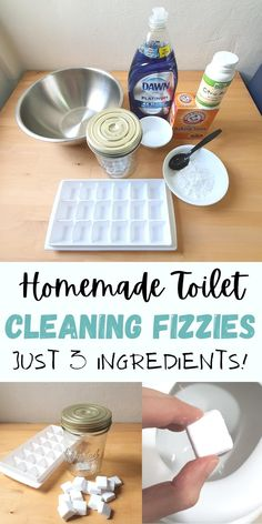 Homemade Cleaning Supplies, Household Cleaning Tips, Toilet Cleaning, Bathroom Cleaning, House Cleaning Tips, Cleaning Hacks, Household Cleaners, Cleaning Solutions, Diy Bathroom Cleaner