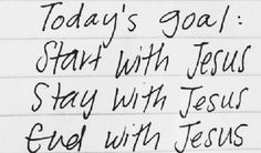 Today's Goal;