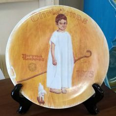 Vintage Norman Rockwell Collector's Plate-Edwin by FrugalFortune