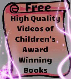 Free High Quality Videos of Children's Award Winning Books!