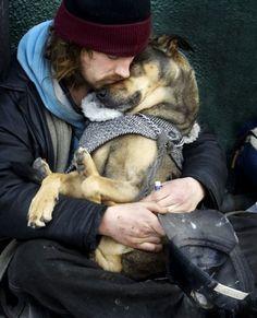 Sacred dog moment...