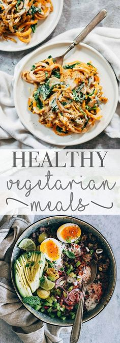 Healthy Vegetarian Recipes - Dinner ideas - Recipes - Healthy recipes - healthy food - High protein - Delicious recipes
