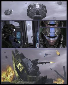 Awesome ODST art -PAGE_01 by ~ubald007 on deviantART