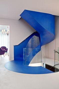 Azure staircase