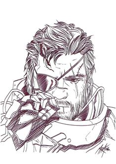 Metal Gear, mgs, Metal Gear Solid,, fandom, Venom Snake, The Punished Snake (MGS), The Phantom Pain, Metal Gear Art, Metal Gear Solid