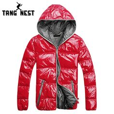 >> Click to Buy << TANGNEST 2017 New Arrival Fashion Hooded Lowest Price Parka New Design 5 Colors Bright Windproof Male Asian Size Coat MWM1503 #Affiliate